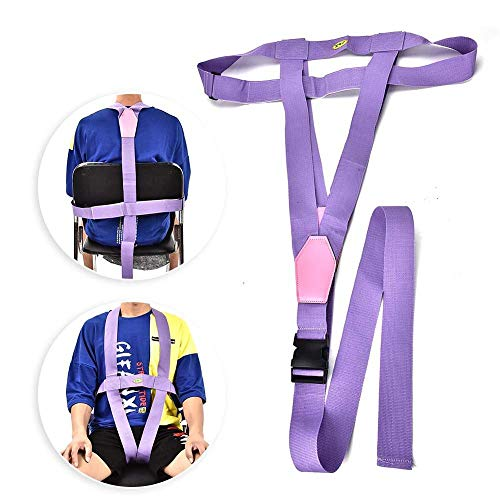 Jupiter hut Elderly Patient Wheelchair Belt Bandage Adjustable Safety Harness Strap Wheelchair Restraint Anti-Slip Safety Fixing Strap Belts