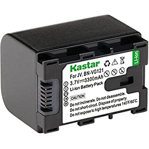 Kastar Charger, Battery for BN-VG121-1 BN-VG121 VG121