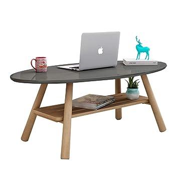 Amazon.com: Coffee Tables Living Room Solid Wood Tea Table ...