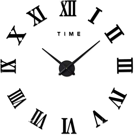 Clock Numbers Vinyl  Stickers Decals DIY Arts And Crafts Clock Kit