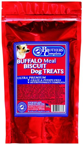 Brothers Complete Buffalo Biscuit Treats - 16 oz