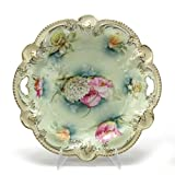 Dessert Tray by R S Prussia, China, Floral Design
