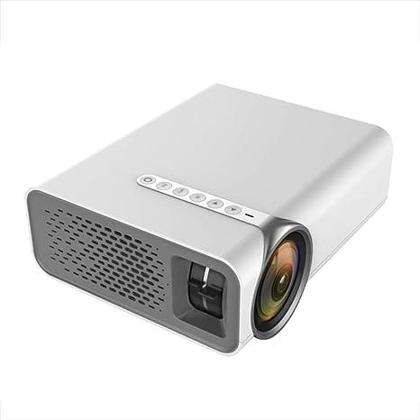 PGOTYY Proyector portátil Proyector doméstico, microproyector LED ...