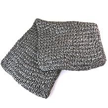Scarf tube / snood mesh 'Lollipops'gray - 90x40 cm (35.43''x15.75'').