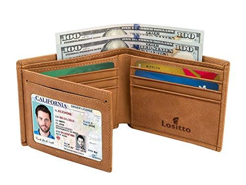 Grain Leather Travel Wallet - 9