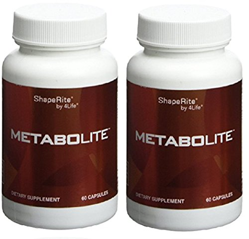 4life MetaboLite Digestive Formula For Healthy Thyroids 60 capsules each (pack of 2) Review