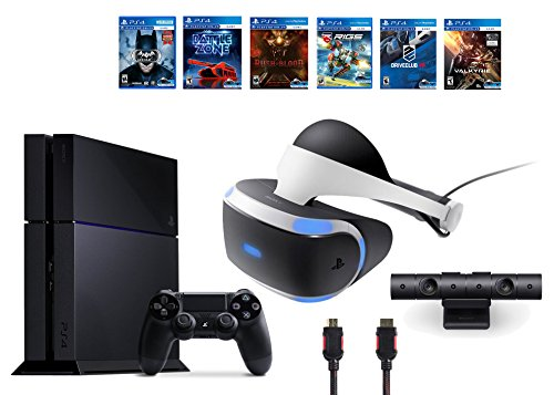 PlayStation-VR-Bundle-9-ItemsVR-HeadsetPlaystation-CameraPS46-VR-Game-Disc-PSVR-Until-Dawn-Rush-of-BloodPSVR-EVE-ValkyriePSVR-BattlezoneBatman-Arkham-VR-PSVR-DriveClubPSVR-Battlezone
