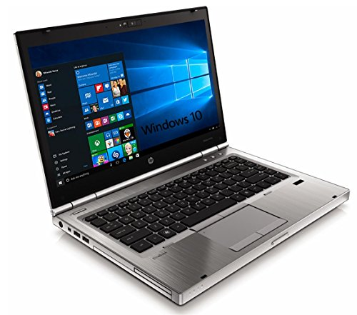 HP Elitebook 8460p Laptop WEBCAM - Core i5 2.5ghz - 8GB DDR3 - 320GB HDD - DVDRW - Windows 10 64bit - (Renewed)