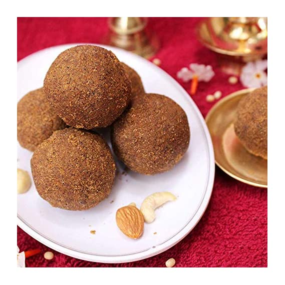 Sitara Foods - Bellam Minapa Sunnundalu / Black Gram / Jaggery Urad Dal Laddu (Home Made Andhra Style) 250 Grams