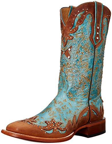 Cinch Women's Sally, Aqua, 6 B US (Cinch Cowboy Boots Womens)