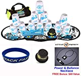 Speed Stacks Combo Set ''The Works'': 12 PRO Series #2 4'' Cups, REBEL MUDD Gen 3 Mat, G4 Pro Timer, Cup Keeper, Stem, Gear Bag, Speed Stacks Wristband + Active Energy Necklace