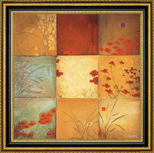 Poppy Nine Patch by Don Li-Leger - 19.25