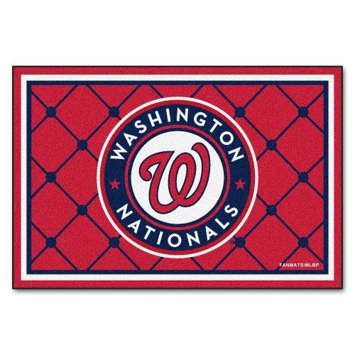 Washington Nationals Baseball Rug - 4