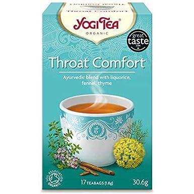 Yogi Tea | Throat Comfort - og | 1 x 17 bags: Amazon.es ...