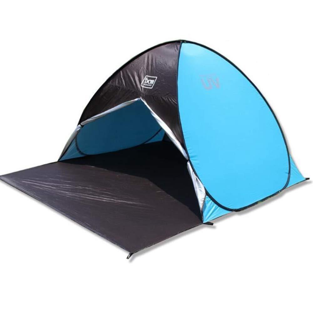 BBX Automático Pop-up Grupo Camping Tienda al Aire Libre con Parasol 3-4 Personas a Prueba de Viento Refugio de Nieve 5000 mm Columna de Agua Impermeable Senderismo Excursionismo Excursionismo