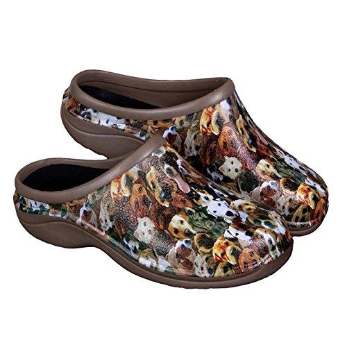 Backdoorshoes® Clog Design Garten Wasserdichter für Damen Dogs qC6Fpqxwz