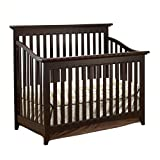 Cheap Sorelle Shaker Crib in Espresso