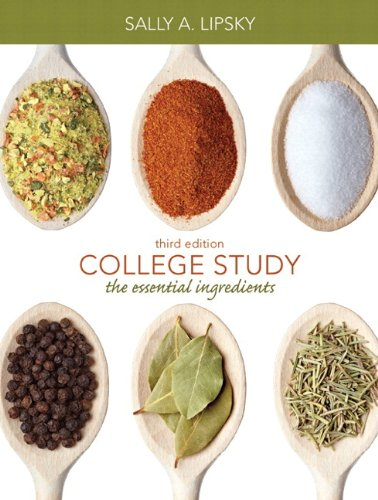 College Study: The Essential Ingredients Plus NEW MyStudentSuccessLab 2012 Update -- Access Card Package (3rd Edition)