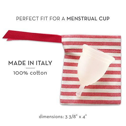 Viola bag ideal for a menstrual cup made in italy - Diva cup italia ...