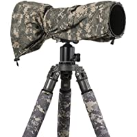 LensCoat LCRSLDC RainCoat RS for Camera and Lens, Large (Digital Camo)