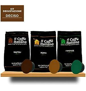 96 Cápsulas de Café compatibles Dolce Gusto - kit degustación Deciso de 96 cápsulas café compatibles