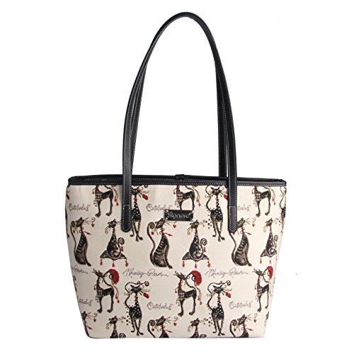 Per Borsa Acitud Signare Fashion Gatto Donna College drqwrg