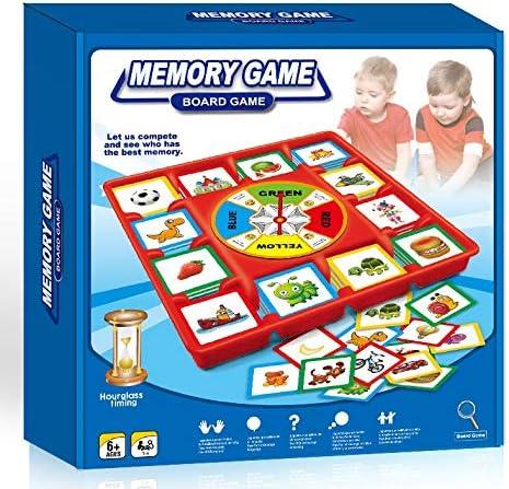Neo- Juego de Mesa Memory con Ruleta, Multicolor (5083): Amazon.es: Juguetes y juegos
