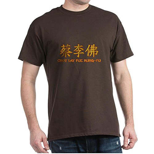 CafePress Choy Lay Fut Caligraphy - 100% Cotton T-Shirt