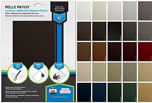 Leather & Vinyl Adhesive Repair Patch (Brown Dark) (Durable Furniture Fabrics)