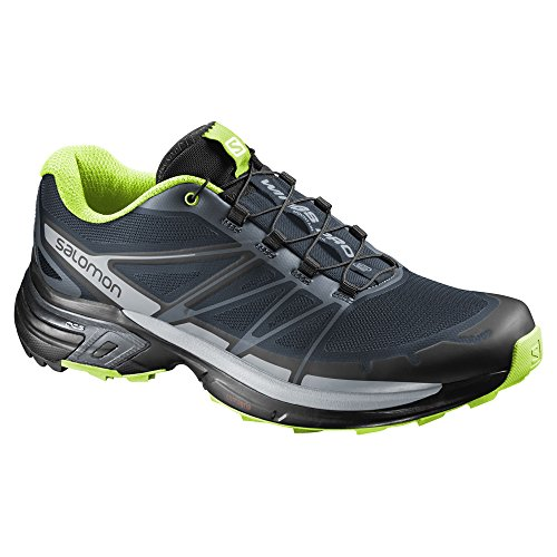 Trail Running Men's Pro US 8 M 2 Salomon Shoes Black Wings Grey FgSBqnH