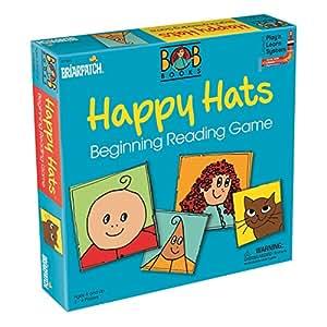 Bob Books Happy Hats Beginning Reading Game Line