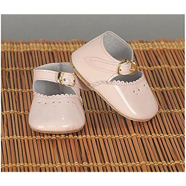 Color Vestido de colecci/ón dise/ño Propio Comercial de Juguetes Maripe SL 1 Manoletina Piel Blanca Complementos Mariquita P/érez