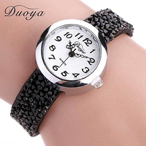 Gift ! Women Luxury Crystal Bracelet Quartz Wristwatch Rhinestone Watches - Wholesale Womens Fashion