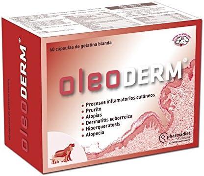 Farmadiet Oleoderm Blísters con 60 Comprimidos de Suplemento Nutricional