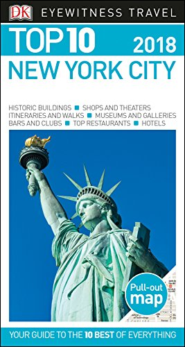 New York Pocket - Top 10 New York City (Eyewitness Top 10 Travel Guide)