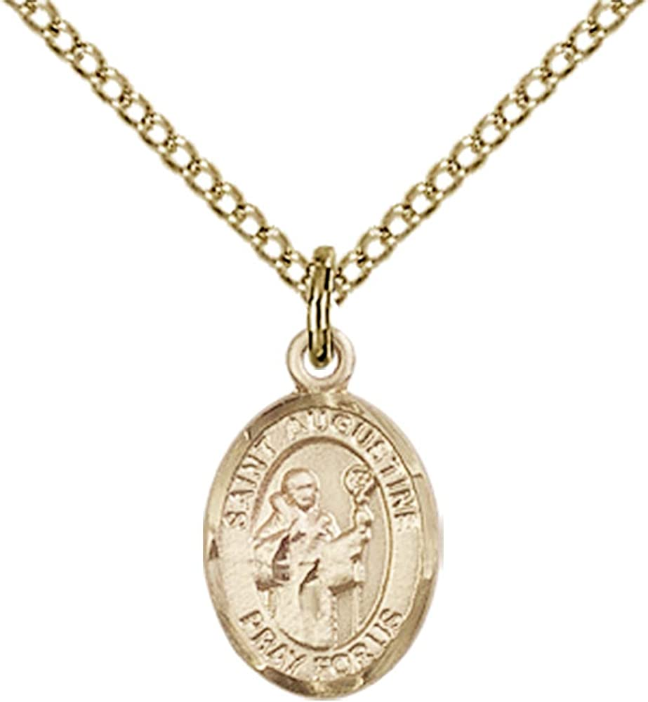 Jewels Obsession St 18 Chain Augustine Pendant Augustine Pendant Gold Filled St Made in USA