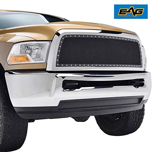 EAG Stainless Steel Wire Mesh Front Grille Fit for 10-12 Dodge Ram 2500/3500