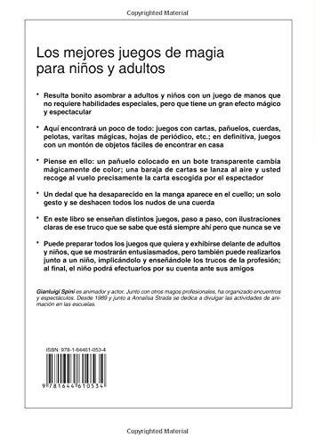 Los mejores juegos de magia (Spanish Edition): Annalisa ...