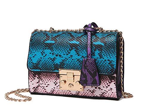 Portefeuille de Sac KELUOSI Carré Petit Pochette Bleu Coursier a Pochette Femmes Mode Main épaule à Sac Bandoulière Sac Sac 8qwgf1xw