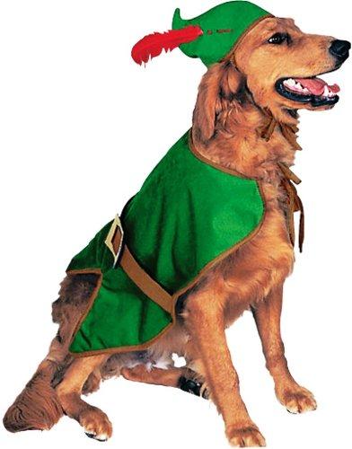 Rubie's Pet Costume, Robin Hood, Medium (Hood Costume Accessories)