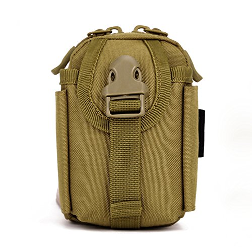 Protector Plus Tactical MOLLE Phone Pouch Bag Gear Waterproo