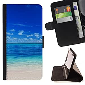 For Samsung Galaxy Note 3 III Maldives Style PU Leather Case Wallet Flip Stand Flap Closure Cover