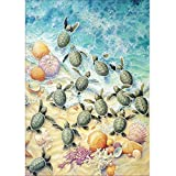 DIY 5D Diamond Painting,Jchen(TM) Home Decorations Craft Animal Peacock Cat Rabbit 5D DIY Diamond Painting Kit Pasted DIY Diamond Painting Cross Stitch (Turtle)