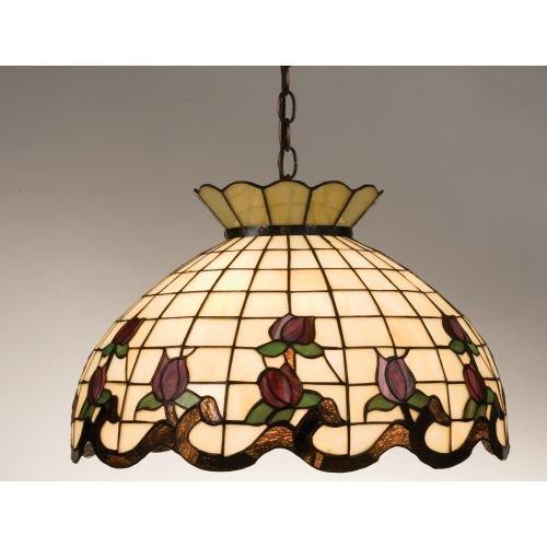 Meyda Tiffany 19137 Roseborder Pendant, 20