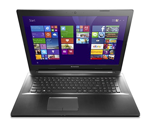 Lenovo Z70 17.3 Inch Laptop (Intel Core i7, 16 GB, 1TB HDD, Black) - Free Upgrade to Windows 10