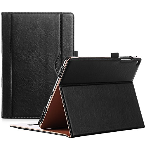 ProCase ASUS ZenPad 3S 10 9.7 Inch Case Z500M - Stand Cover Folio Case for ASUS ZenPad 3S 10 Tablet - Black