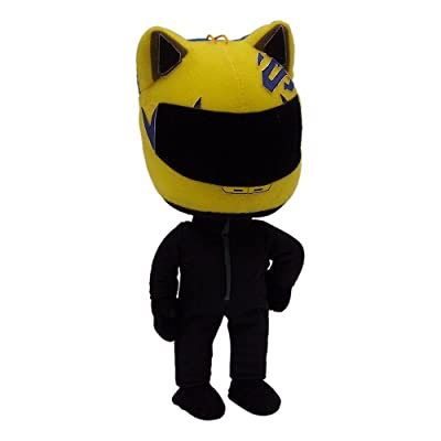 "Great Eastern GE-87505 Durarara!! 6.5"" Celty Plush: Toys & Games"