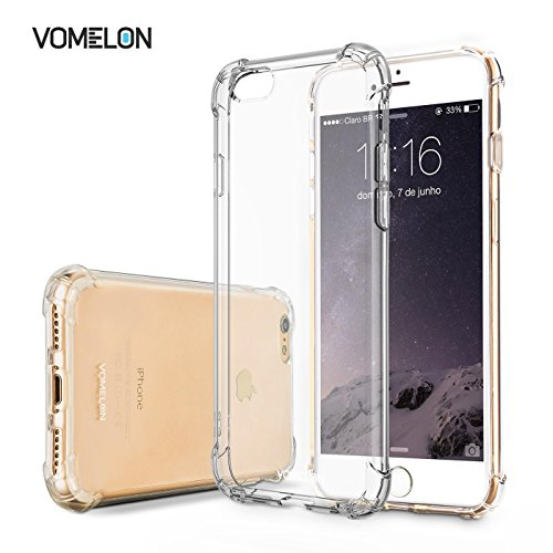 Price comparison product image iPhone 7 Case, Slim Protective [Crystal Clear] Bumper Anti-Slip Cover Skin for iPhone 7 2016 Release