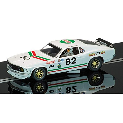 1970 Ford Mustang Scalextric Car (Ford Mustang Scalextric)