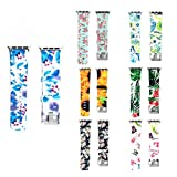 For Apple Watch 42mm Bands - Girls Floral Silicone Bracelets Replacement Band Adjustable Wristband Straps iWatch Accessories Apple Watch Series 3, Series 2, Series 1, Sport, Edition (7 Pack)